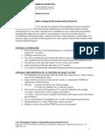 Knee - ACL Hamstring Tendon Autograft, Protocol