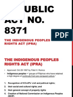 Indigenous Peoples Rights Act, and other related laws (Art and Law)