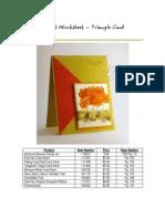 Triangle Card
