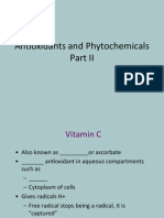 Antioxidants and Phytochemicals2