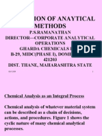 Validation of Analytical