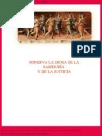 MINERVA ATHENEA LA DIOSA DE LA SABIDURÍA Y DE LA JUSTICIA
