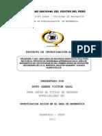 Perfil de Proyecto de Invest. Mag