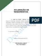 Modelo de Declaracao de Rendimentos Autonomo (1)