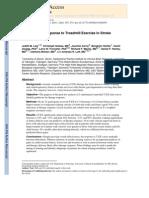 2Preditores de resposta ao exercício em esteira em sobreviventes de acidente vascular cerebral