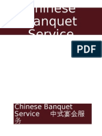 Chinese Banquet Service