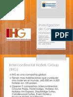 Investigación  de Consorcios Hoteleros