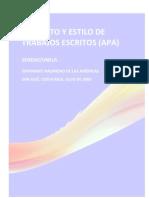 Guía de Formatos APA 2009