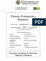 1a. evaluación a distancia Dº Civil I OM