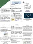 Church Newsletter - 17 March 2013