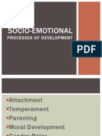 Socio-Emotional Processes of Development