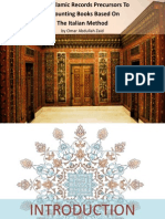 Were Islamic Records Precursors To Accounting Book Based On The Italian Method