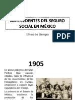 ANTECEDENTES DEL SEGURO SOCIAL EN MÉXICO