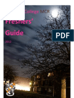 Freshers Guide 2012