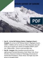 itinerary of sikkim.pptx