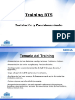 Training BTS 3 Junio 07