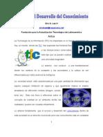 Articulo Las TIC y El Desarrollo Del Conocimiento