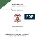 Tema1 Instrumentacion -Biomedica