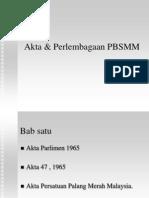 Perlembagaan PBSMM