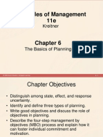 Chapter 6 - The Basics of Planning