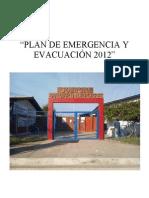 PLAN DE EMERGENCIA Y EVACUACION SAN MARTIN DE PORRES.doc