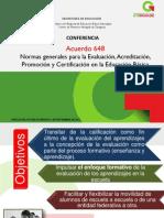 Pres - Acuerdo 648 - Ref. CMAZ (1)
