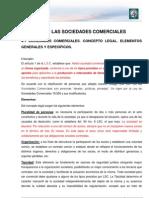 Sociedades Comerciales y Empresa en Dificultades
