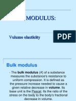 Bulk Modulus - ppt