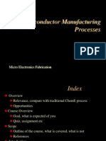 manufacturing process of semiconductor