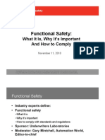 UL Functional Safety Webinar Slides