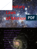 Laws of Planetary Motion - ppt