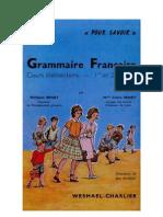 Langue Française Grammaire Française CE1 CE2 Pour Savoir Beney 1962