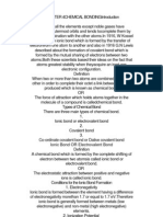 Chapter 4chemical Bondingintroduction