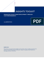 Customer Insight Toolkit