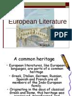 European Literature