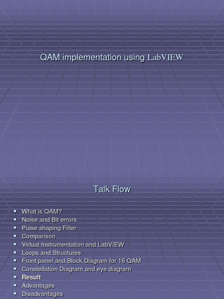 Qam implementation using labview modulation media technology ccuart Image collections