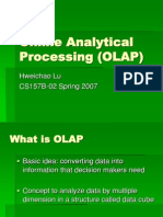 Online Analytical Processing by Hweichao Lu