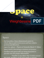 Space and Weightlessness - ppt