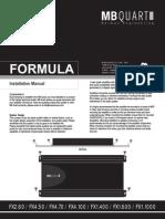 Mb Quart Formula Amplifier Manual