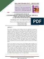 2 Deepak Gupta a Comparative Study of Customer Friendly Services