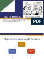 Hris Planning
