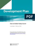 Clare and Gilbert Valleys Council Development Plan