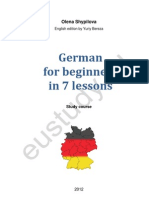 German for Beginners, Basic German