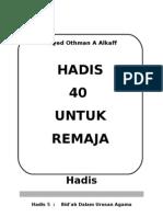 Hadis 40 -Hadis no 5.doc