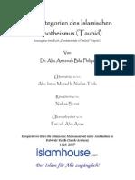 Die Kategorien Des Islamischen Monotheismus [ Tauhid ]