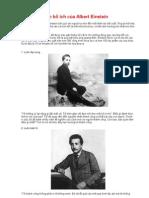 10 lời khuyên bổ ích của Albert Einstein