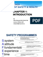 Chapter 1 Plant Safety and Health