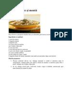 Salată cu orez şi mentă