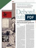Guy Debord Vs Società dello spettacolo, a Parigi una mostra - La Repubblica 24.03.2013