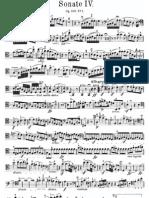 Beethoven Cello Sonata 4 PartCello